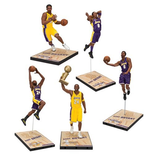 NBA Kobe Bryant LE Championship Series Action Figure Set