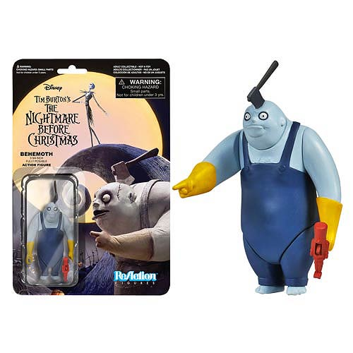The Nightmare Before Christmas Behemoth ReAction 3 3/4-Inch Retro Action Figure