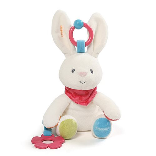 Flora Bunny Activity Toy Plush