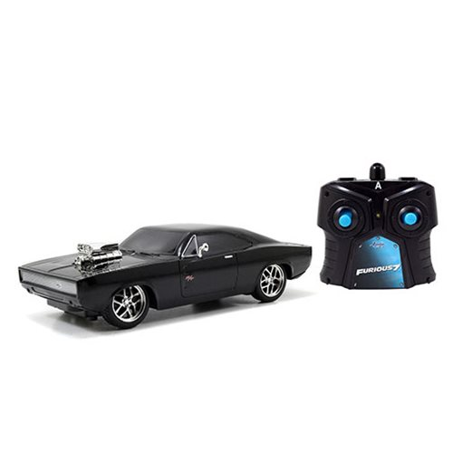 Fast and the Furious 1970 Dodge Charger 7 1/2-Inch RC Vehicle