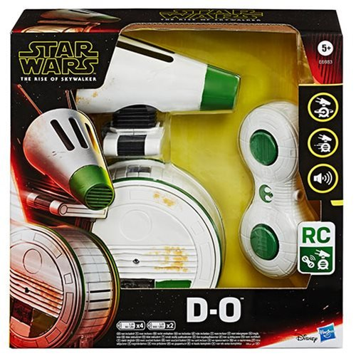 Star Wars: The Rise of Skywalker Remote Control D-O Rolling Toy