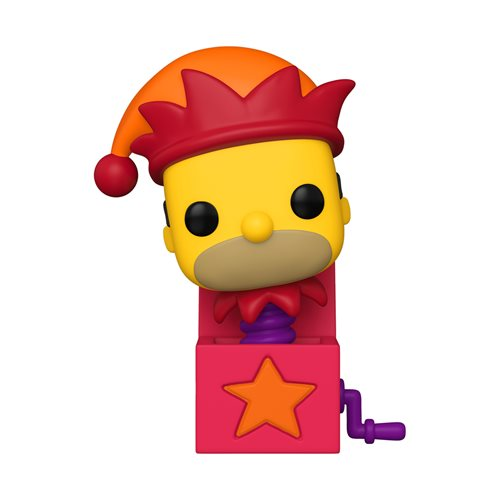 The Simpsons Homer Jack-in-the-Box Pop! Vinyl Figure