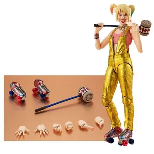 Birds of Prey: And the Fantabulous Emancipation of One Harley Quinn Harley Quinn S.H.Figuarts Action Figure
