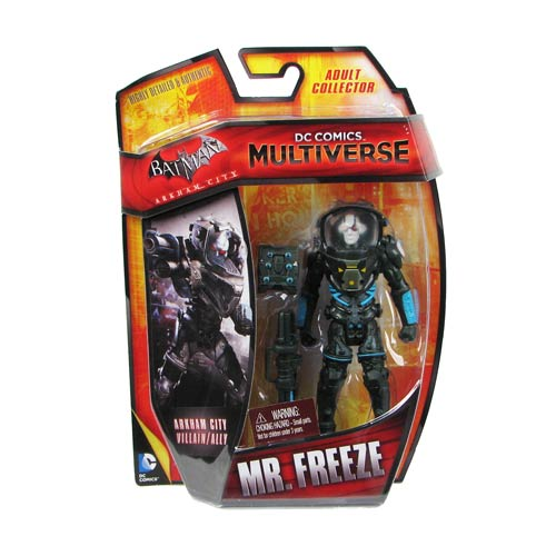 DC Comics Multiverse Mr. Freeze Batman Arkham City 4-Inch Action Figure
