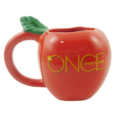 Once Upon a Time Apple Molded Mug