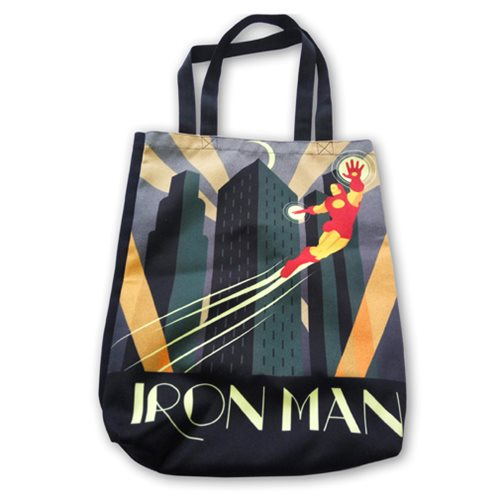 Marvel Comics Iron Man Deco Shopper Tote Bag