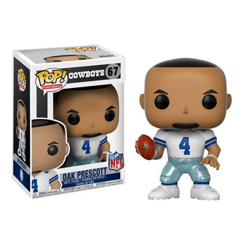 NFL Dak Prescott Cowboys Home Wave 4 Pop! Vinyl Figure #67