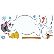 Frosty the Snowman Dry Erase Peel and Stick Giant Wall Decals