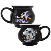 Mickey Mouse Halloween Cauldron Shaped Ceramic Mug