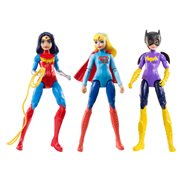 DC Super Hero Girls Action Figure 3-Pack