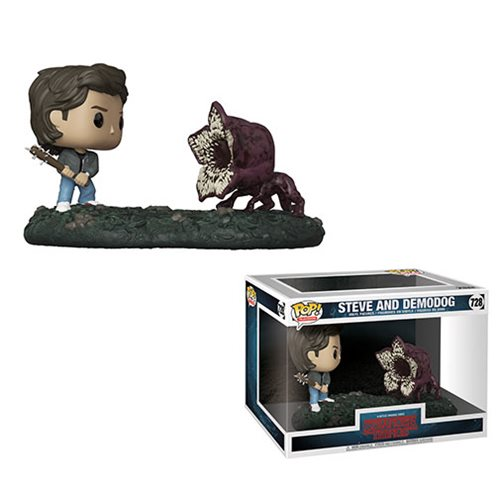 Stranger Things Steve Vs. Demodog Pop! Vinyl Figure Movie Moments