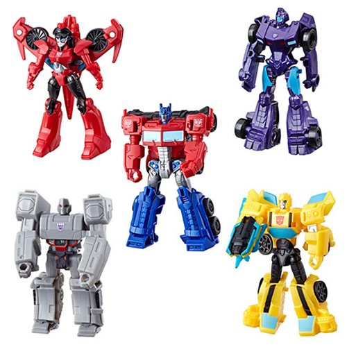 Transformers Cyberverse Scout Wave 4 Case