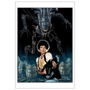 Aliens: Nemesis by Randy Martinez Paper Giclee Art Print