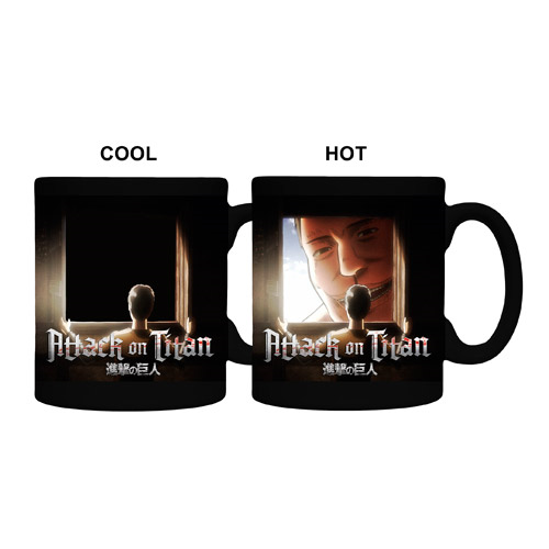 Attack on Titan Window Heat Change 11 oz. Mug