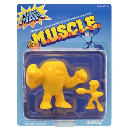Mega Man M.U.S.C.L.E. Yellow Devil and Mega Man Mini-Figure 2-Pack