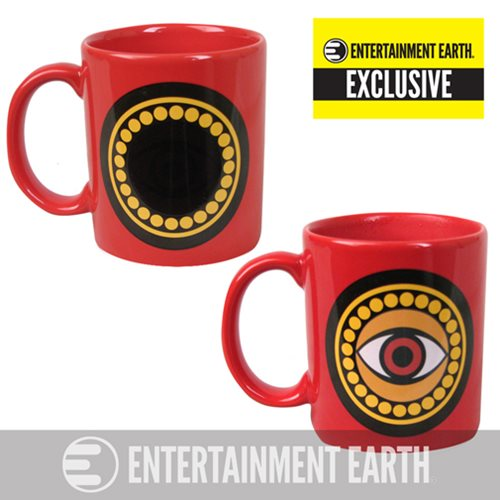 Doctor Strange Eye of Agamotto Amulet 11 oz. Heat Change Mug - Entertainment Earth Exclusive