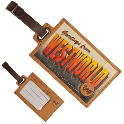 Westworld PU Luggage Tag