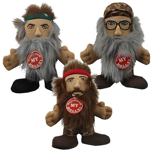 Duck Dynasty 8-Inch Talking Plush Set