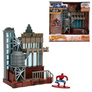 Spider-Man Marvel Daily Bugle Nano Metalfigs Nano Scene Diorama
