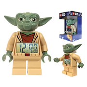 LEGO Star Wars Yoda Mini-Figure Clock