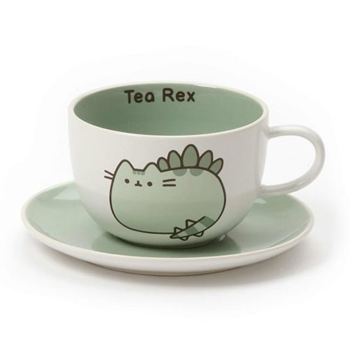 Pusheen the Cat Tea-Rex Tea Cup and Saucer