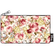 Beauty and the Beast Belle Character Floral Print Pencil Case