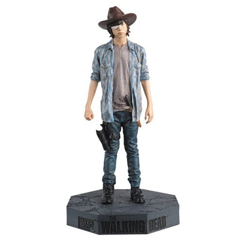 Walking Dead Carl Figure with Collector Magazine #27