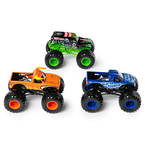Monster Jam Ground Shaker 1:64 Scale Die-Cast Vehicles 3-Pack