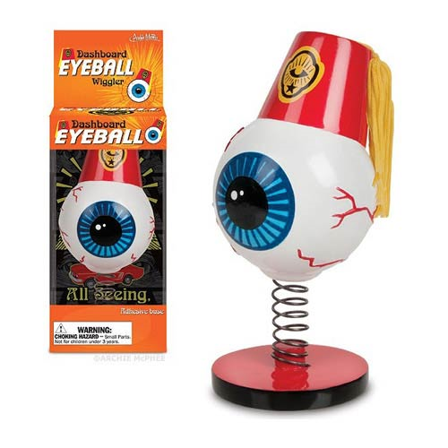 Dashboard Eyeball Wiggler Bobble Head