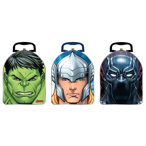 Avengers 2020 Arch Shape Carry All Tin Lunch Box Set
