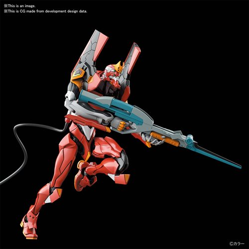 Neon Genesis Evangelion Evangelion Production Model-02 Real Grade Model Kit