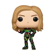 Captain Marvel Neon Suit Pop! Vinyl Figure, Not Mint