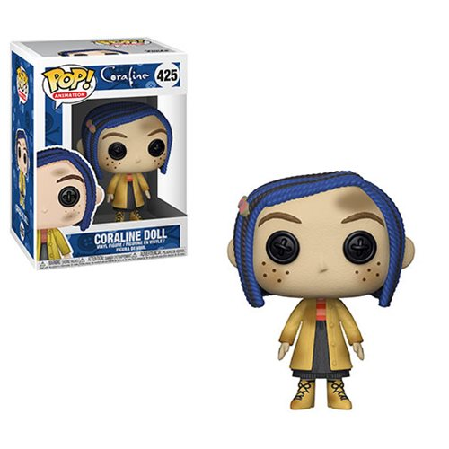 Coraline Coraline Doll Pop! Vinyl Figure #425, Not Mint