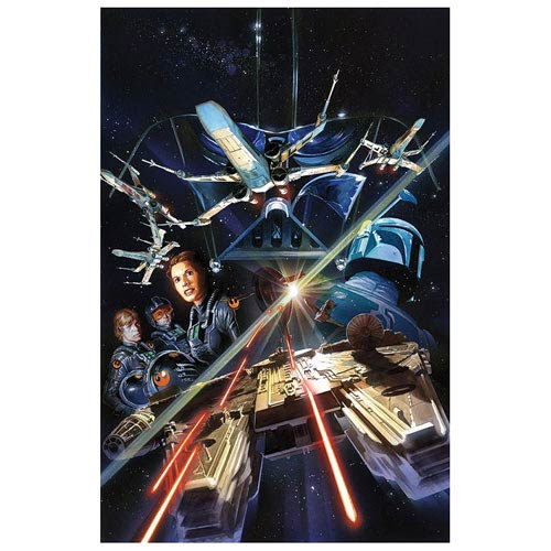 Star Wars Comic Book Issue #2 Cover Paper Giclee Print