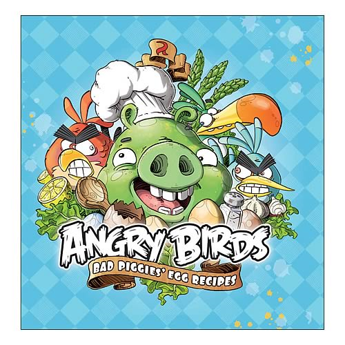 Angry Birds Bad Piggies Egg Recipies Hard Cover Book