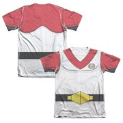 Voltron Red Lion Pilot Keith Costume T-Shirt