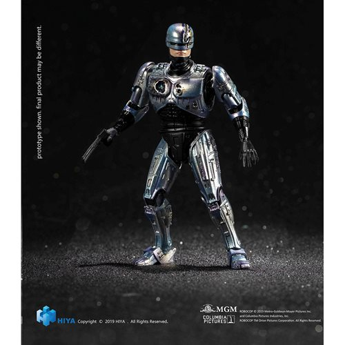 RoboCop 2 Battle Damage RoboCop 1:18 Scale Action Figure - Previews Exclusive