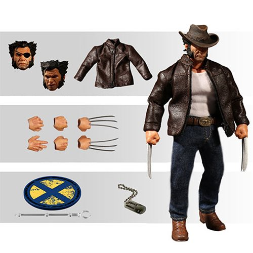 Wolverine Logan One:12 Collective Action Figure