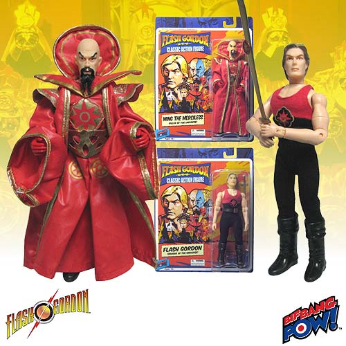 Flash Gordon and Ming 8-Inch Action Figures