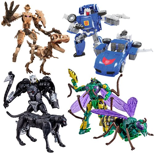 Transformers Generations Kingdom Deluxe Wave 4 Set of 4