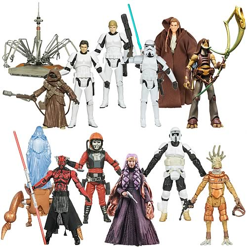 Star Wars Legacy Collection Action Figures Wave 8 Case