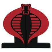 G.I. Joe Cobra Logo Bookends Statue