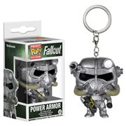 Fallout Power Armor Pocket Pop! Key Chain