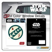 Star Wars Mandalorian Insignia Window Decal