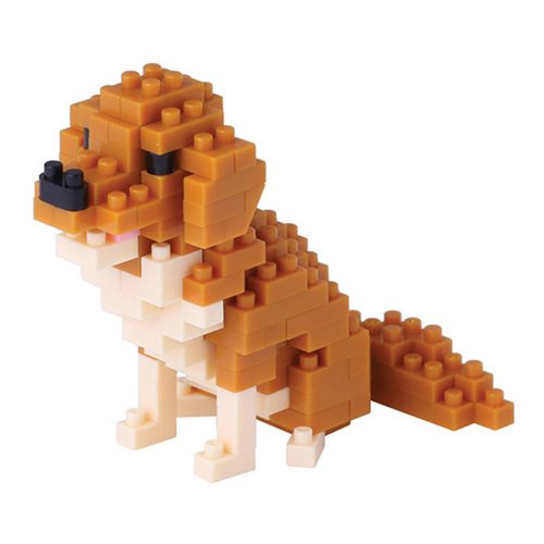 Golden Retriever Nanoblock Constructible Figure