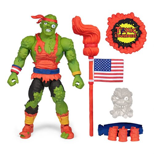 Toxic Crusaders Toxie Deluxe 6-Inch Action Figure