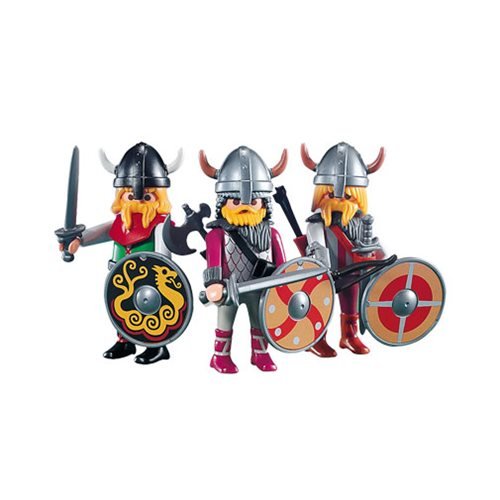 Playmobil 7677 3 Viking Warrior Action Figures