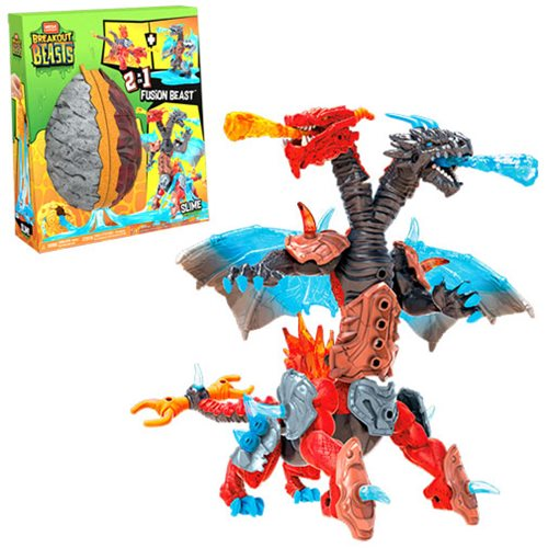 Mega Construx Breakout Beasts 2-in-1 Fusion Beast
