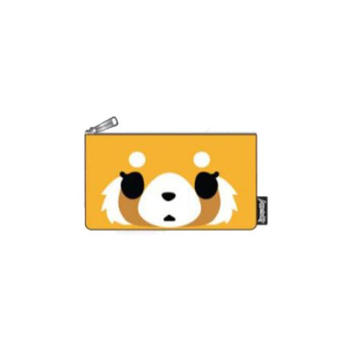 Aggretsuko Big Face Pencil Case