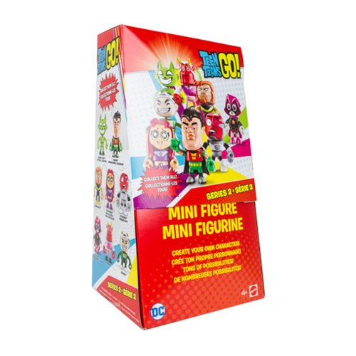 Teen Titans Go! Series 2 Mini-Figure Case